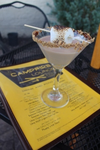 S'moretini at Campfire Cafe