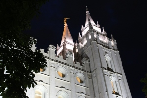 Learning about Mormon culture in  Salt Lake